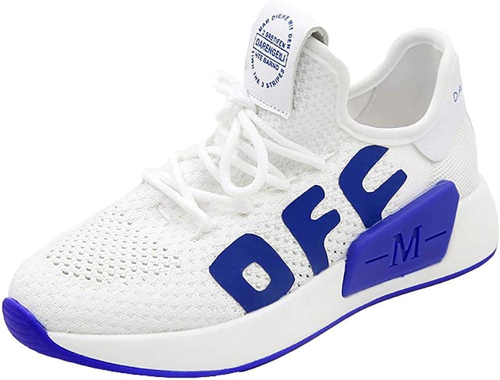 Sneakers de mujer zapatillas de Running Fly tejida transpirable pequeños zapatos blancos casual Mesh retro zapatos,White,35: Amazon.es: Ropa y accesorios