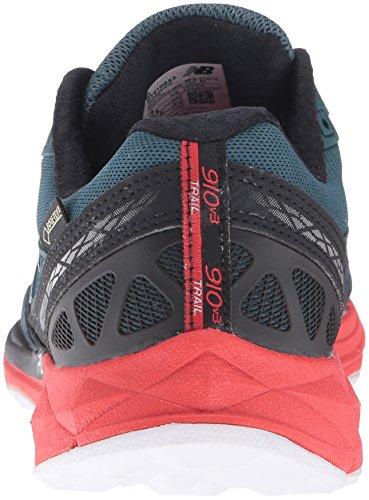 New Balance 910v3, Zapatillas de Running para Asfalto para Hombre Multicolor (Green/red)