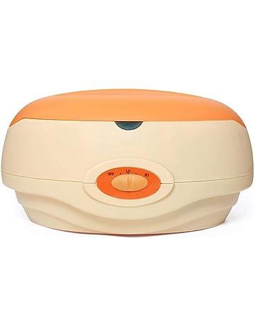 Calentador de Parafina Baño Cera de Parafina 150W Calentador de Cera Para manos y pies Orange