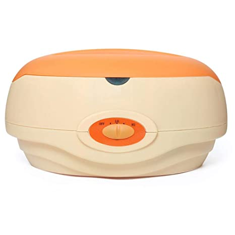 549d5d9fcd Calentador de Parafina Baño Cera de Parafina 150W Calentador de Cera Para  manos y pies Orange