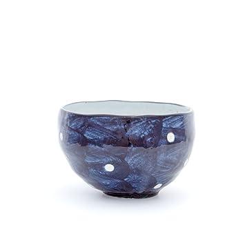 Amazon Com Wabi Sabi Matcha Bowl Made In Japan Waves Kitchen Dining