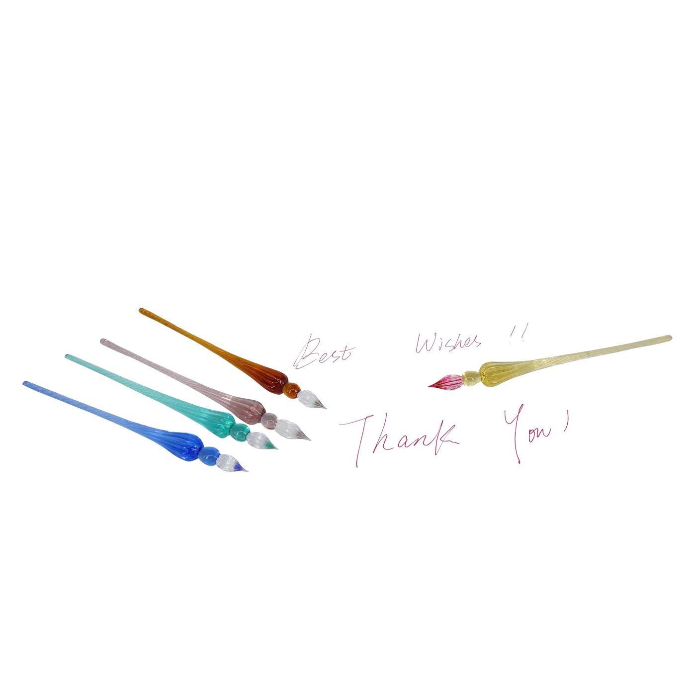Penna in vetro borosilicato fatta a mano idea regalo Molshine