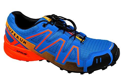 gibra - Zapatillas de running de textil/sintético para hombre royalblau/neonorange