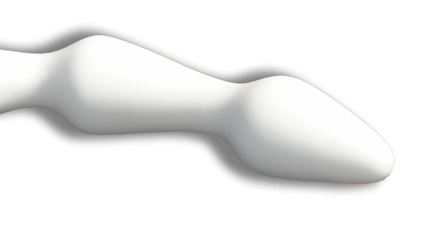 Anal blanco Bola Cadena - Medio - Estándar - blanco Anal - super suave 549448