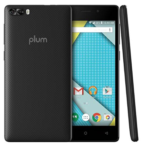 Plum Compass 4G LTE GSM Unlocked Smart Cell Phone 5'' Display Android 7.0 Quad Core 8+5 MP Camera by Plum (Image #5)