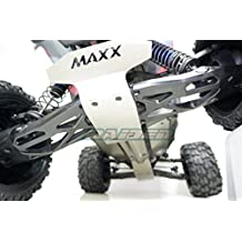 Traxxas X-Maxx XMAXX Stainless Steel Chassis Armor Front Middle Rear Skid Plate 5pcs