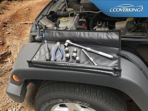 - Coverking Mechanics Fender Cover Guard Mat Service for Jeep 2007-2017 Wrangler