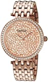 CARAVELLE NEW YORK Womens 44L222 Dress Rose Gold Dial Watch