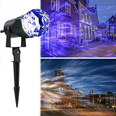 LESHP Landscape Projector Light£¬Projector Lights Moving All Over Sky Show Spotlights Outdoor Decorations for Party, Holiday, Birthday, Stage Light