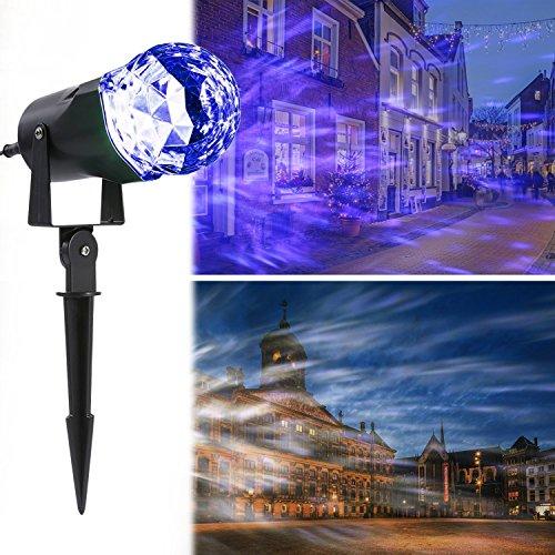 Outdoor Laser Lights Blue - 6