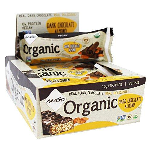 Cheap NuGo Nutrition – Organic Protein Bar Dark Chocolate Almond – 12 Bars