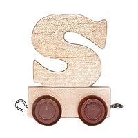 Personalizzato treno di legno lettera dell' alfabeto
