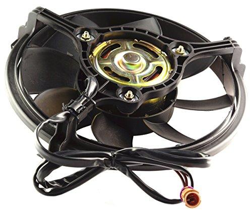 Audi A4 2000 Cooling (TOPAZ 8D0959455L Radiator Cooling Fan Motor for Volkswagen Audi)