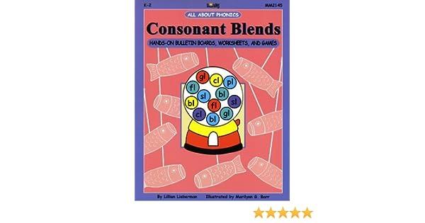Consonant Blends: Hands-On Bulletin Boards, Worksheets & Games ...