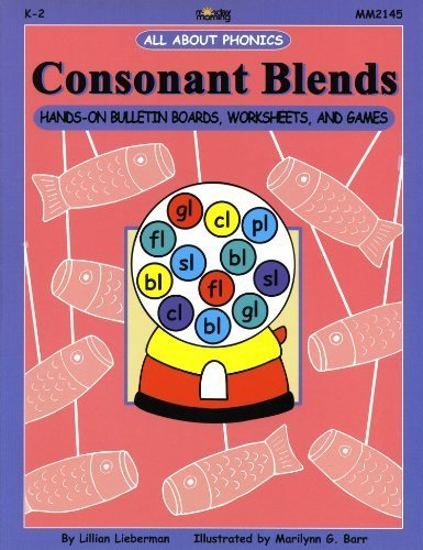 Consonant Blends: Hands-On Bulletin Boards, Worksheets & Games ...