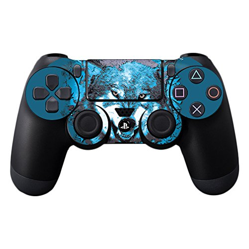 MightySkins Skin Compatible with Sony PS4 Controller - Wolf Shatter | Protective, Durable, and Unique Vinyl Decal wrap Cover | Easy to Apply, Remove, and Change Styles | Made in The USA