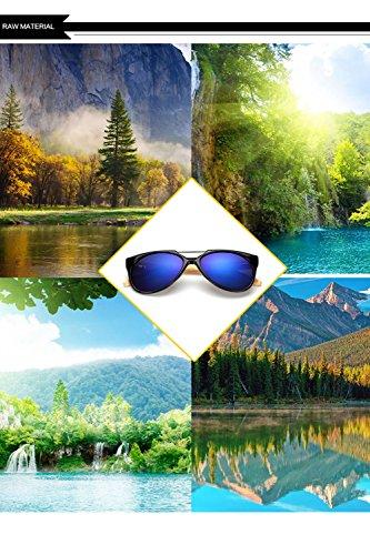 Hombres Sol Marco D Madera Ultravioleta Personalidad La De Aviador Gafas Mujer Los 400 F para del De De del Protección para 5nwOqgxS8