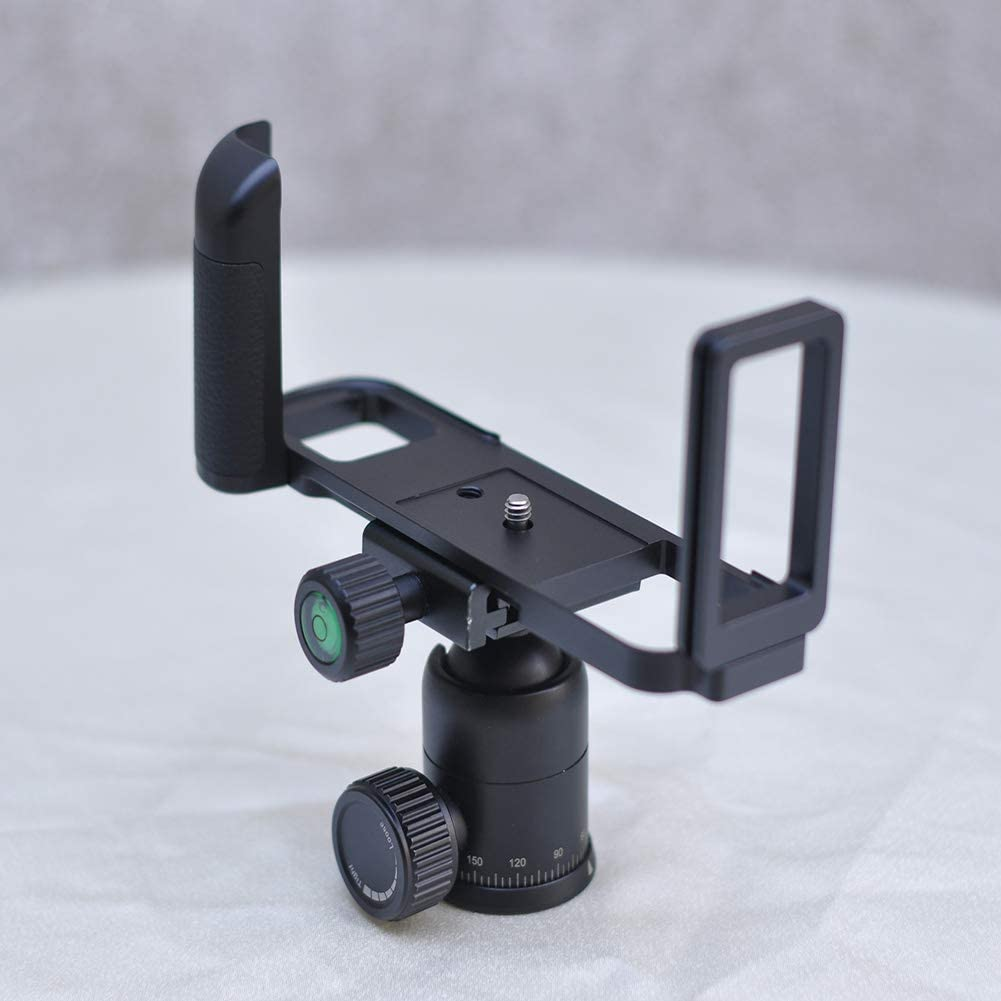 UKSAT Camera Handle Quick Release L Plate Bracket,L Plate Hand Grip,GFX 50R L Plate Tripod Quick Release Plate for Fuji GFX 50R