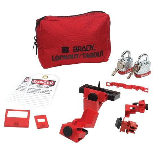 Portable Lockout Kit, Filled, Electrical