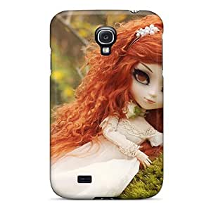 DaMMeke Galaxy S4 Well-designed Hard Case Cover Redhead Doll Protector