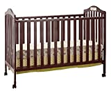 Big Oshi Emily 2-in-1 Crib, Cherry