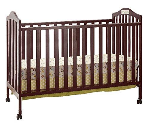 Big Oshi Emily 2-in-1 Crib, Cherry by Big Oshi