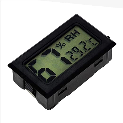 Forestwood Thermomètre hygromètre pour Reptile, Mini Intégré