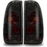Winjet WJ20-0016-05 Altezza Tail Lights (Pair)- Black/Smoke