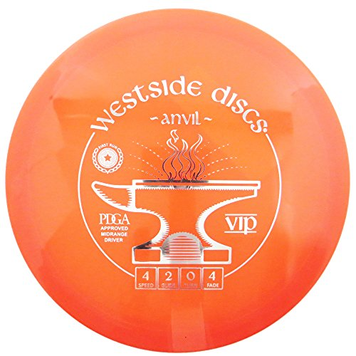 Westside Discs First Run VIP Anvil Midrange Golf Disc [Colors May Vary] - 160-169g
