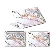 """Digi-Tatoo Cracked Marble Vinyl Decal Sticker for Apple Macbook Full body Protective, Removable,Anti-Scratch and Residue Free-Macbook 2016 Pro 13"""" None-Touchbar A1708"""