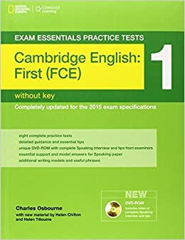 Book Exam Essentials: Cambridge First Practice Test 1without Key (Exam Essentials: Cambridge First Practice Tests) by Helen Chilton (2014-03-24)