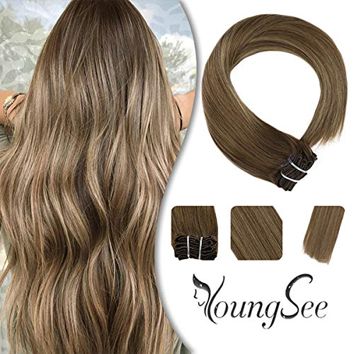 Youngsee 18inch Extensions Balayage Blonde