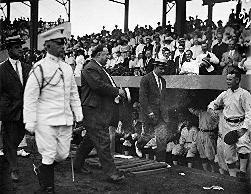 President Taft at Senators - White Sox Game, Baseball Photo #2 (16x24 SIGNED Print Master Giclee Print w/Certificate of Authenticity - Wall Decor Travel Poster)