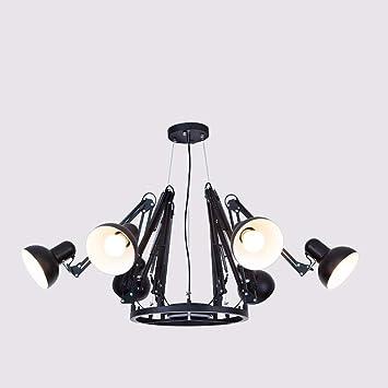 GZZ Deng Inicio Iluminación Exterior Colgante Sombra de Luz ...