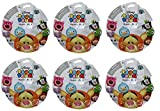 Bundle of 6: Disney Tsum Tsum Series 4 Mystery Stack Pack