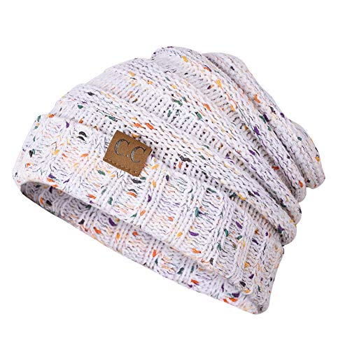(Aockis Beanie Hats for Women, Unisex Hats Winter, Warm Hats for Women Winter, Knit Skull Cap for Women Man (Colorful Confetti))