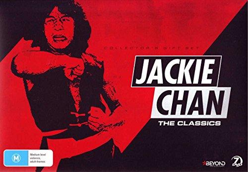 DVD : Jackie Chan: Classics Collection (6 Films) - 7-DVD Box Set ( Shi di chu ma / Lung hing foo dai / 'A' gai wak / 'A' gai wak 2 / Ging chat goo si / Ging [ NON-USA FORMAT, PAL, Reg.0 Import - Australia ]
