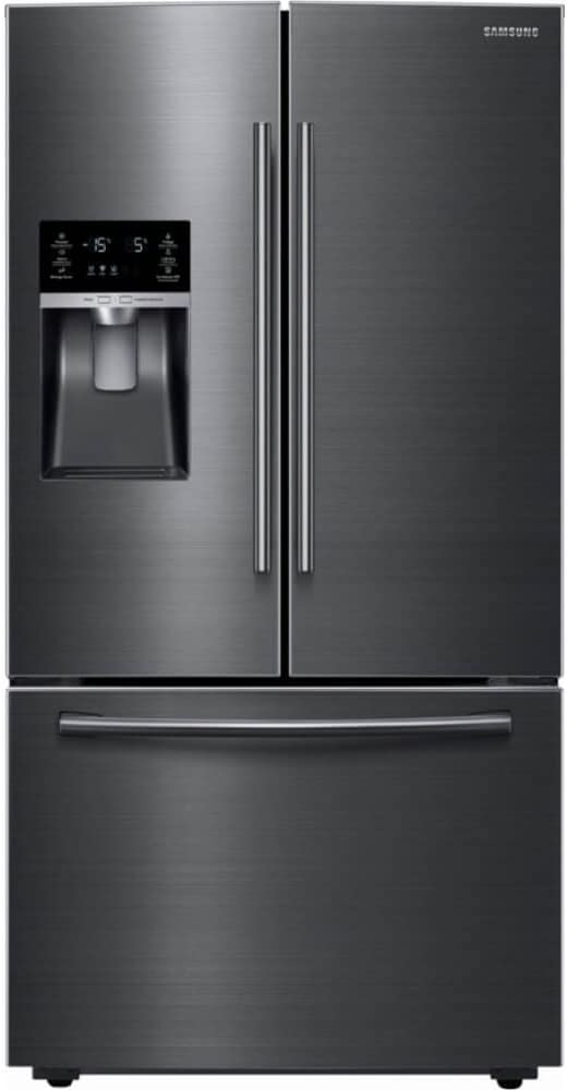 "RF28HFEDBSG 36"" French Door Refrigerator with 28.07 cu. ft. Total Capacity, in Black Stainless Steel"