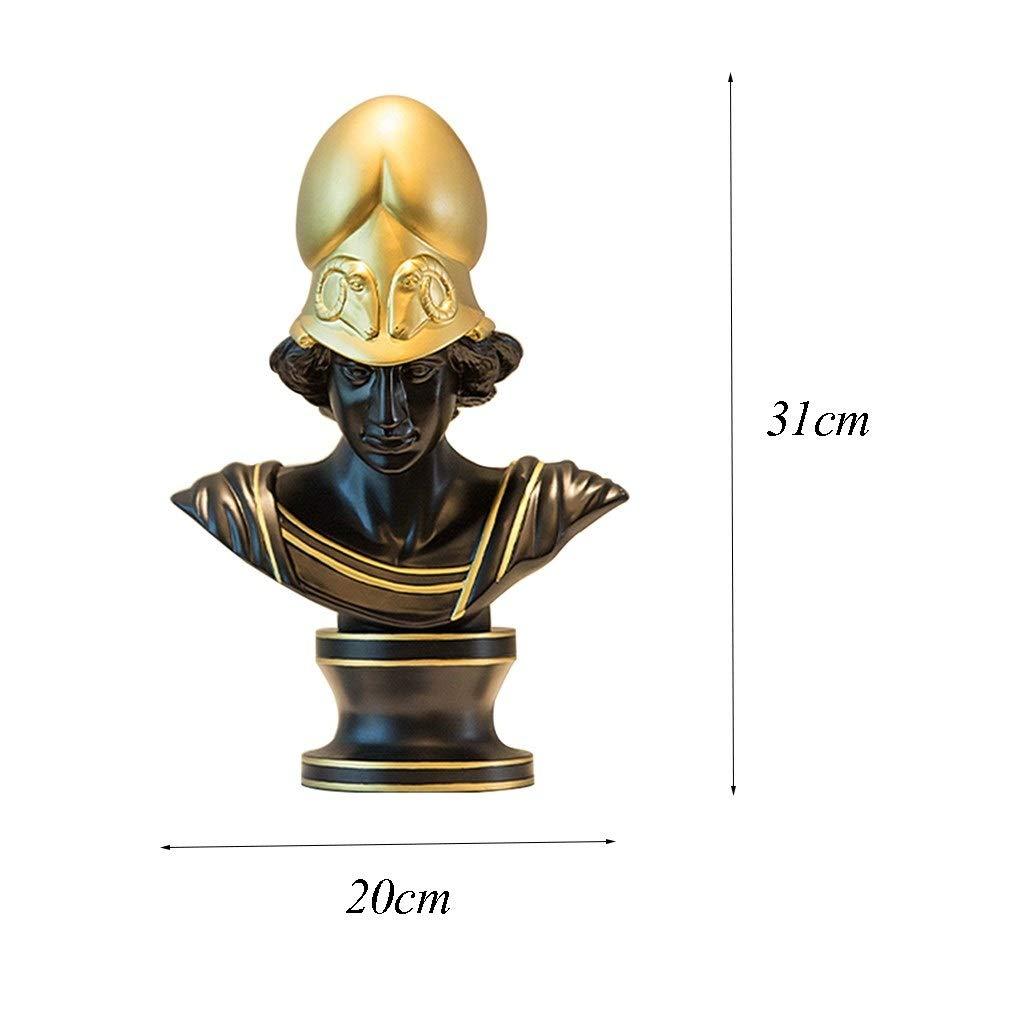 Ornaments Athena Carácter Escultura Escritorio Decoración Hogar ...