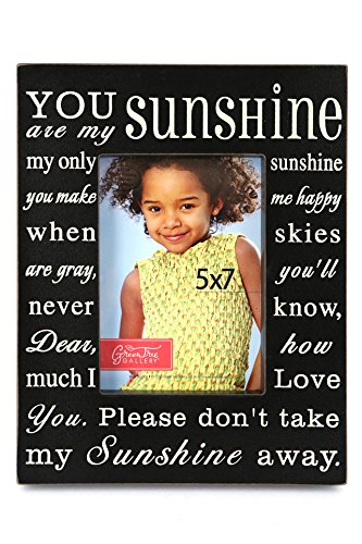 Amazoncom Green Tree Gallery You Are My Sunshine Photo Frame