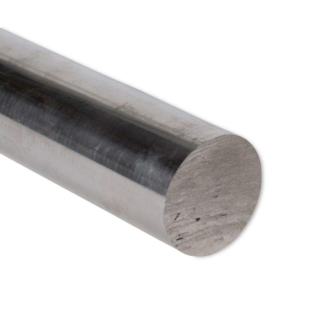 Remington Industries 304 Stainless Steel Round Rod 2'' Diameter, 6'' Length, Extruded, 2.0 inch Dia. by Remington Industries