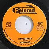 Kokomo 45 RPM Humorous / Theme From a Silent Movie