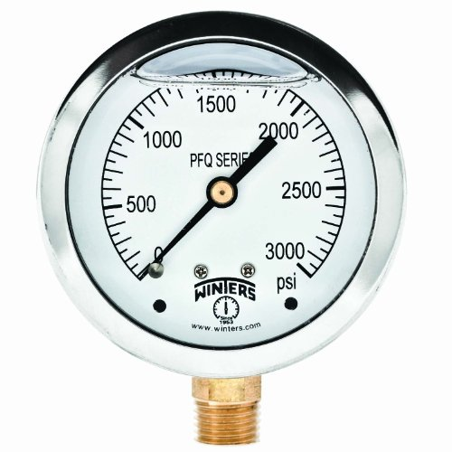 Winters Instruments PFQ Series Stainless Steel 304 Single...