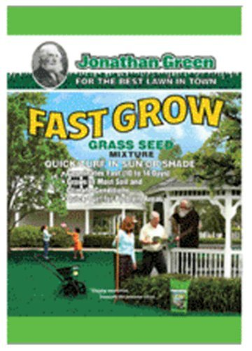Jonathan Green 10830 Fast Grow Grass Seed Mix, 15 Pounds by Jonathan Green (Image #1)