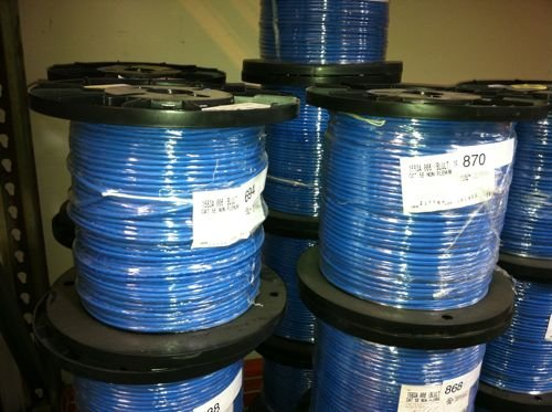 Belden 1583A CAT5E Blue 250 foot Reel 4 Pair 24 AWG UTP CMR