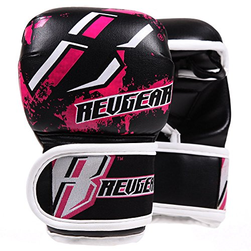 REVGEAR[《레기아》] 키즈용 MMA파이트 글로브 (핑크)/ Youth Deluxe MMA Glove