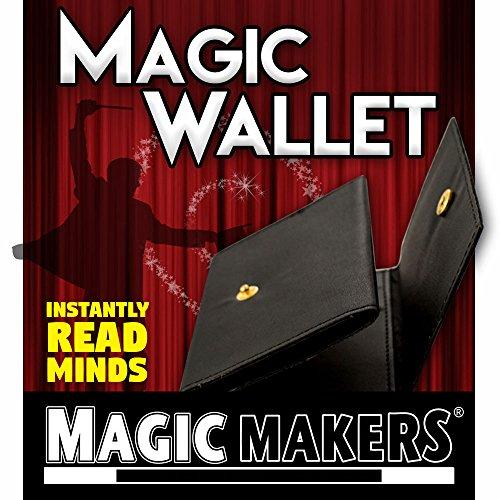 Mind Reading Magic (Magic Makers Magic Wallet - Mind Reading Trick)