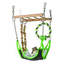 Trixie Pet Products 6298 Suspension Bridge, Green, 17 x 22 x 15cm