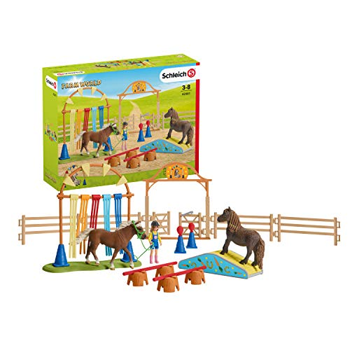 Used, Schleich Pony Agility Training for sale  Delivered anywhere in USA