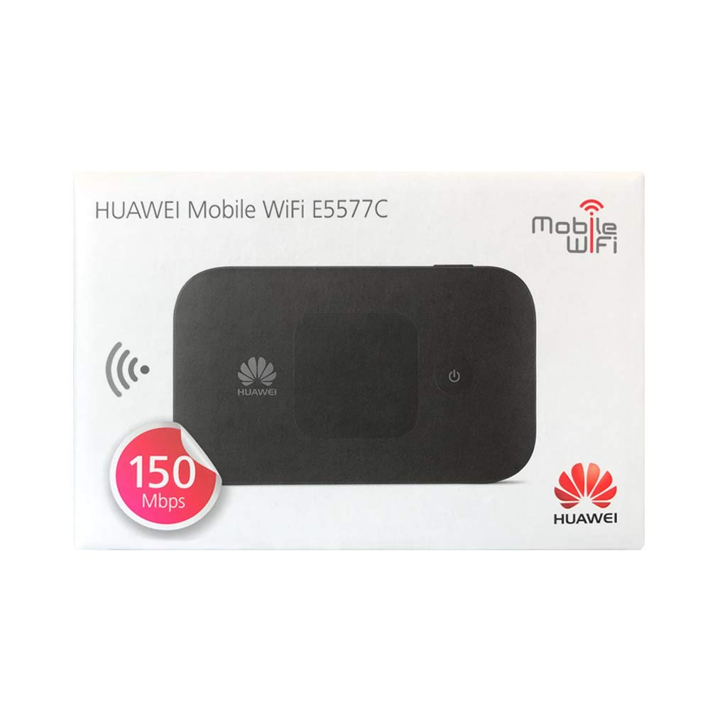 White 4G LTE in Europe, Asia, Middle East, Africa /& 3G globally Huawei E5577Cs-321 150 Mbps 4G LTE /& 43.2 Mpbs 3G Mobile WiFi Hotspot